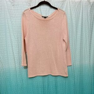 Lauren Ralph Lauren blush sweater